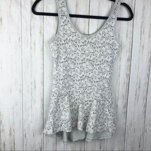 Charlotte Russe sparkly tank